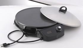 """WASS Electronics 16"""" Digital Mitad Grill"""