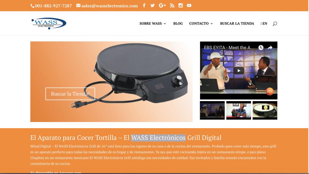 El WASS Electrónicos Grill Digital